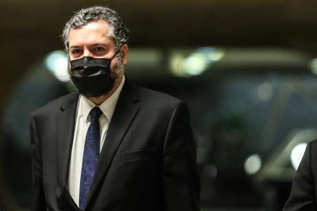 Ernesto Araújo promoveu o governo brasileiro em evento
