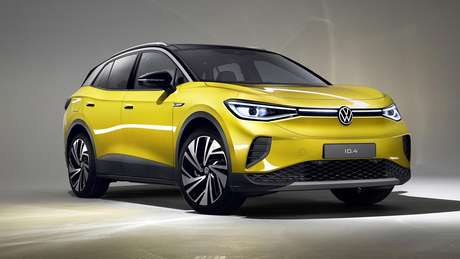 Novíssimo Volkswagen ID.4 SUV: segundo carro elétrico da marca e primeiro utilitário esportivo.
