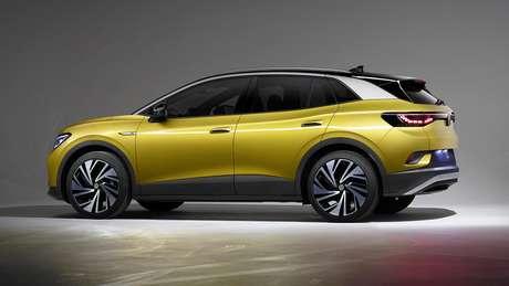Com 210 mm de altura mínima do solo, o ID.4 será um SUV para encarar off-road leve.