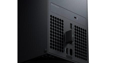 A memória externa conectada no Xbox