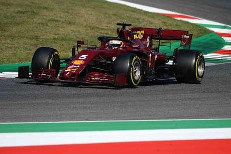 Sebastian Vettel conseguiu, com muito esforço, fechar a zona de pontuação em Mugello