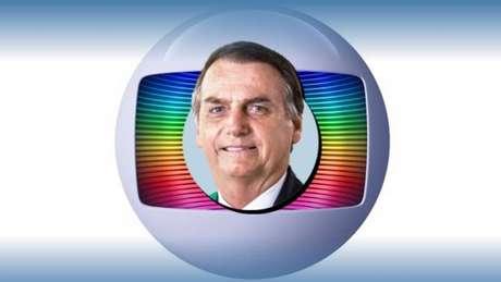 Bolsonaro trava guerra particular contra a Globo por se sentir perseguido pelo jornalismo da emissora