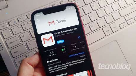 Gmail no iOS 14