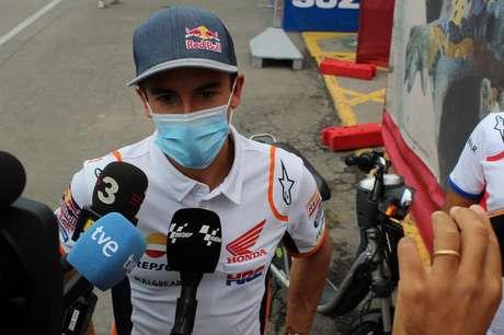 Marc Márquez ficou dois meses longe do paddock da MotoGP