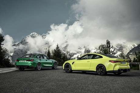 BMW M3 Sedan chega à sexta geração, enquanto o M4 Coupé chega à segunda geração.