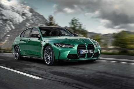 Novo M3 Sedan acelera de 0-100 km/h em 4,2 segundos e chega a 250 km/h.