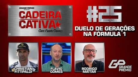 Cadeira Cativa #25 recebe Christian Fittipaldi e Rodrigo Mattar