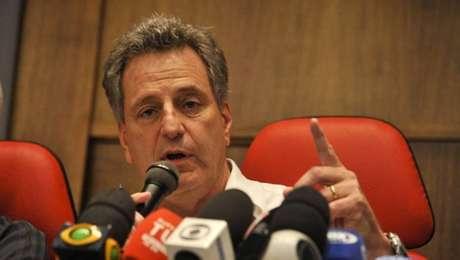 Rodolfo Landim, presidente do Flamengo - clube envolve-se em polêmica no Brasileiro