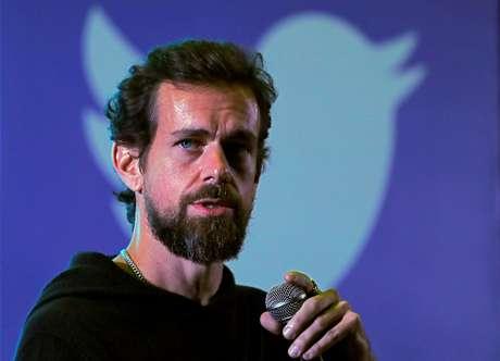 Presidente do Twitter, Jack Dorsey. 12/11/2018. REUTERS/Anushree Fadnavis