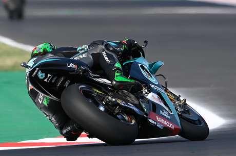 Franco Morbidelli foi o mais rápido da sexta-feira