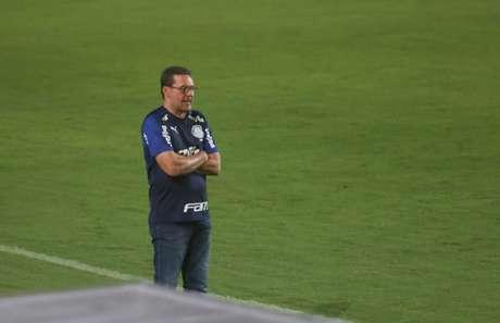 Vanderlei Luxemburgo ainda não encontrou o time ideal do Palmeiras (Foto: Tiago Caldas/Fotoarena/Lancepress!)