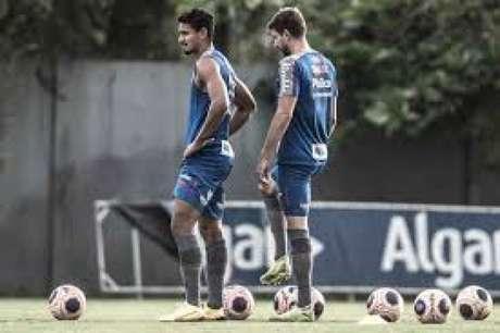 Lucas Veríssimo e Luan Peres serão desfalques do Peixe contra o Olimpia-PAR (Foto:Ivan Storti/Santos FC)