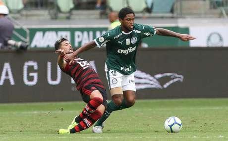 Elenco alviverde é contrário ao adiamento da partida contra o rubro-negro carioca (Foto: Cesar Greco/Palmeiras)
