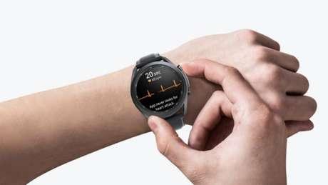 ECG no Galaxy Watch Active 2
