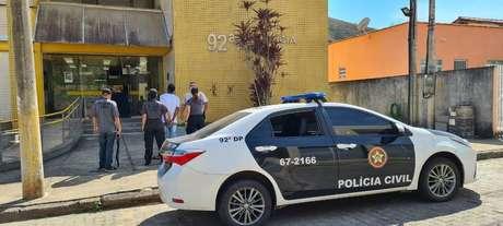 Polícia prendeu homem no bairro de Valença, no município do Rio das Flores