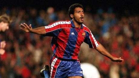 Romário foi campeão, artilheiro e melhor jogador do Campeonato Espanhol de 1993/94 (Foto: Reprodução de internet)