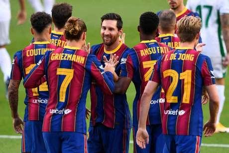 Messi será o grande comandante do Barcelona novamente na temporada (JOSEP LAGO / AFP)