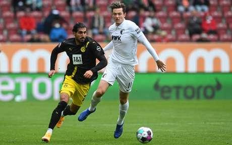 Borussia Dortmund fracassou diante do Augsburg fora de casa (Foto: AFP)