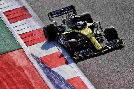 Daniel Ricciardo andou bem novamente e ficou na terceira posição