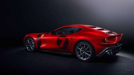Brand new and exclusive Ferrari Omologata features elements of classics such as the 250 LM and 250 GTO.