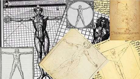 Outros tentaram responder ao desafio proposto por Vitrúvio em seu tratado sobre a arquitetura, mas foi a solução encontrada por Da Vinci que acabou gravada em nossa memória cultural