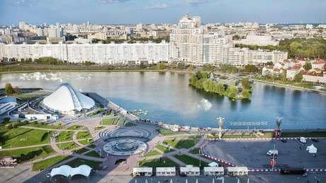 Arquitetura de Minsk lembra passado soviético