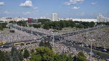 Belarus atravessa crise histórica desde eleições presidenciais de 9 de agosto