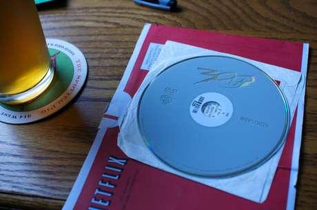 Os velhos DVDs da Netflix.