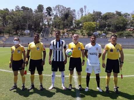 Atlético-MG e Corinthians empataram em 1 a 1, neste domingo pelo BR sub-20 (Foto: Fabricio Almeida/Atlético-MG)