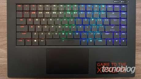 xpg xenia teclado