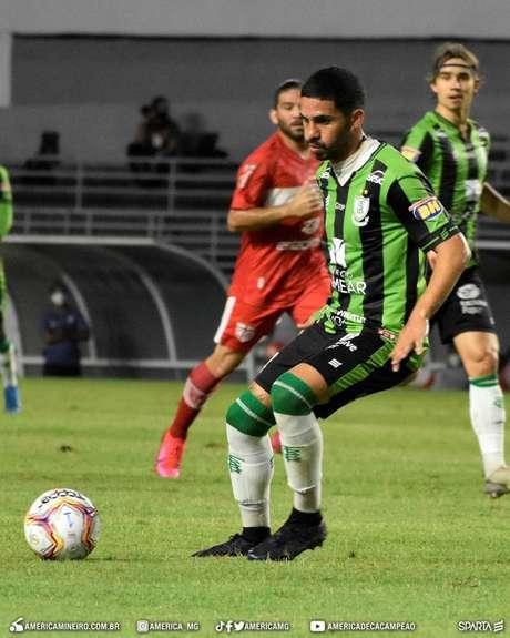 CRB e América-MG empataram por 0 a 0 (Foto: Divulgação/América-MG)