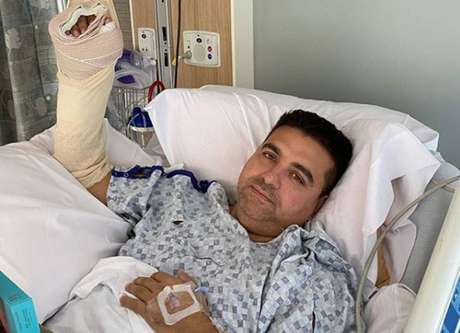 Buddy Valastro in hospital after suffering an accident