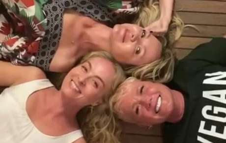 Angélica, Eliana e Xuxa se reencontram e compartilham fotos e vídeo