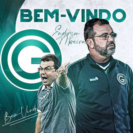 Goiás anunciou a contratação do técnico Enderson Moreira