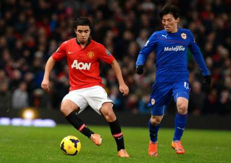 Rafael era lateral do Manchester United (Foto: Andrew Yates / AFP)