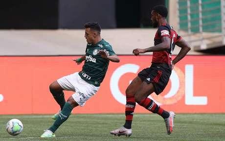 Gabriel Menino é um dos jogadores suspensos contra o Ceará (Foto: Cesar Greco/Palmeiras)