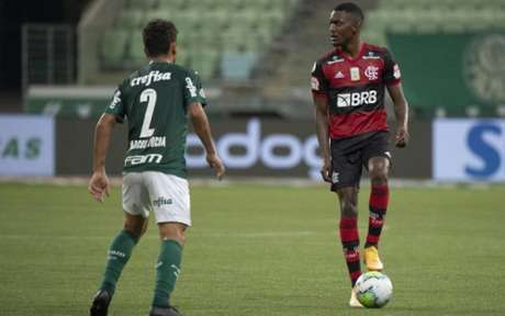 Ramon demonstrou personalidade (Foto: Alexandre Vidal / Flamengo)