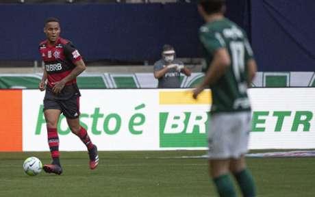 Natan transmitiu segurança atrás (Foto: Alexandre Vidal / Flamengo)