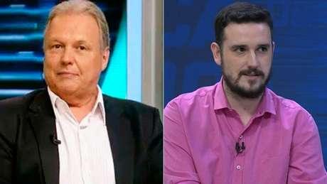 Renato Maurício Prado e Raphael Rezende trocaram 'farpas' em rede social (Foto: Reprodução)