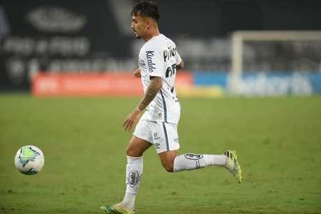 Lucas Lourenço já soma seis jogos pelo time principal em 2020 (Foto: Ivan Storti/Santos FC)