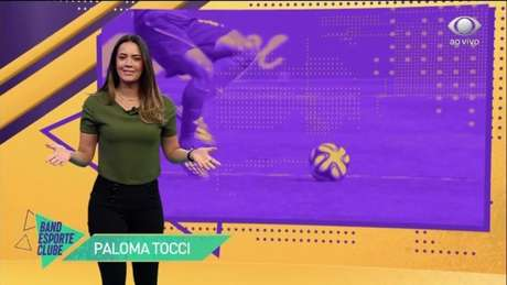 Apresentadora da Band, Paloma Tocci pode deixar emissora (Reprodução/ Band)