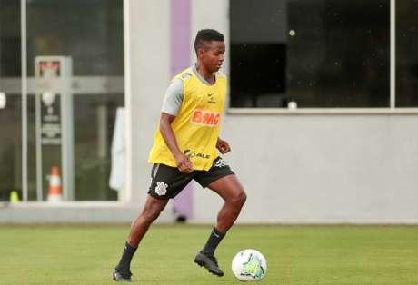 Corinthians fez mais um treinamento na tarde desta segunda-feira (Foto:Rodrigo Coca/Ag. Corinthians)
