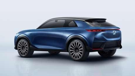 E: Honda's concept may indicate future visual language of the brand's SUVs.