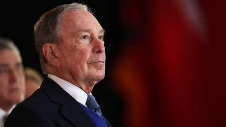 O bilionário democrata Mike Bloomberg é o político que mais arrecadou dinheiro para a campanha de 2020, embora ele não esteja mais na disputa