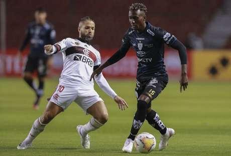Flamengo e Independiente Del Valle se reencontram no Maracanã nesta quarta-feira (Foto: AFP)