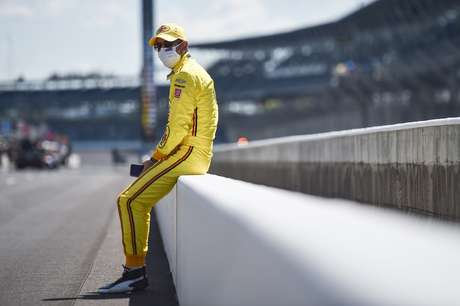 Helio Castroneves na Indy 500 2020