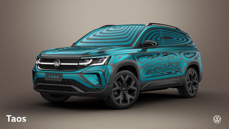 Novíssimo Volkswagen Taos: carro será apresentado sem camuflagem no dia 13 de outubro.