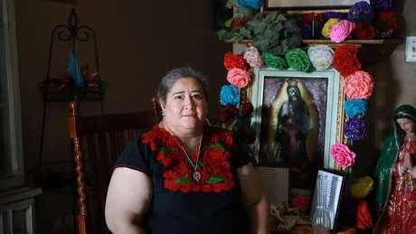 Hilda Robles comprou seu primeiro carro nos EUA com a ajuda de uma tanda