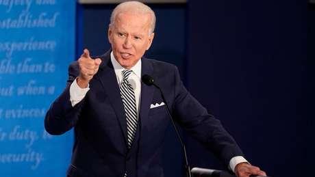 Em debate contra Trump, o candidato democrata Joe Biden criticou a política ambiental do Brasil