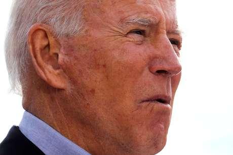 Joe Biden em Cleveland 30/09/2020 REUTERS/Mike Segar